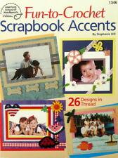 ASN Fun to Crochet Pattern Book - Scrapbook Accents - 26 designs