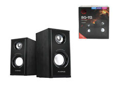 CASSE AUDIO PC 2.0 COMPUTER USB NOTEBOOK ALTOPARLANTI STEREO SUBWOOFER GAMING 3W