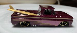 Hot Wheels '62 Custom Chevy Truck 1/64 Diecast Loose Chevrolet Pickup