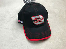 Nascar Dale Earnhardt #3 Embroidered Hat Black Red NEW