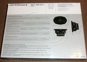 """INFINITY REF-9632ix 6 x 9 INCH 2-WAY CAR AUDIO COAXIAL SPEAKERS 6""""x9"""" PAIR 300W"""