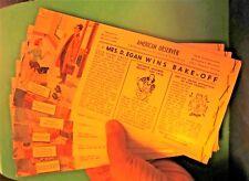 Lot of 6 Brown and Bigelow American Observer Advertising Ink Blot cards Mrs Egan