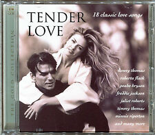 TENDER LOVE - 18 CLASSIC LOVE SONGS - CD COMPILATION [760]