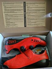 NEW Lake cx402 speedplay shoes 43 US 9 Rare Red/Back Road bike Bicycle cleats