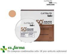 Cumlaude maquillaje Sunlaude compacto Spf50 Medium
