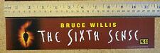 "The Sixth Sense (Movie Theater 11.5"" x 2.5"" Mini Mylar Banner)"