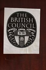 ✒ EX LIBRIS The British Council - armorié