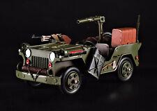 Blechmodell US-Militär Jeep Geländewagen Army Militaria Military Fahrzeug Auto