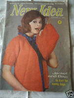 vintage Australian New Idea magazine 1964 knitting sewing patterns recipes ads