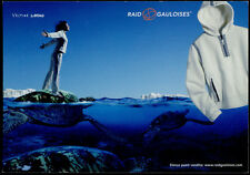 cartolina pubblicitaria PROMOCARD n.4007/A RAID GAULOISES ABBIGLIAMENTO
