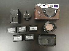 Leica M M8.2 10.3MP Digital Camera - Silver with Lens & Extra Upgrades