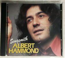 ALBERT HAMMOND songsmith CD  1990 BONUS TRACKS I'm a train MOONLIGHT LADY