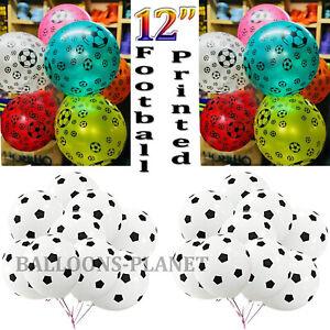 20X Printed Balloons Ballons Party Wedding Football baloons Birthday Latex