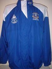 Everton 1st equipo cuestión chaqueta Lcs formación L Fútbol Remera Jersey Impermeable