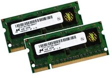 2x 4GB 8GB Notebook RAM DDR2 800 Mhz SO-Dimm PC2-6400S 200 pin Speicher Laptop