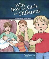 Learning about Sex: Why Boys and Girls Are Different : For Boys Ages 3-5 by...