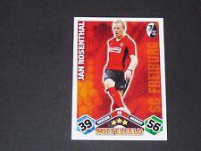 ROSENTHAL SC FREIBURG TOPPS MATCH ATTAX PANINI FOOTBALL BUNDESLIGA 2010-2011