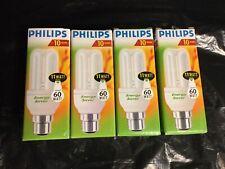 Philips Energy Saving Light Bulbs 60W X 4