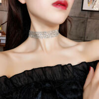 Jewelry Neck Strap Short Necklace Gold Silver Invisible Chocker Clavicle Chain