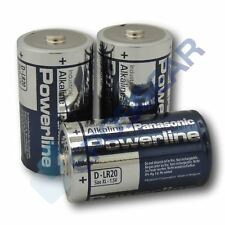 240 Panasonic Powerline D LR20 MN1300 Industrial Alkaline Battery Batteries