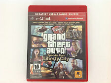 Grand Theft Auto Episodes Liberty City 2 - Greatest Hits ( SONY PS3) - Complete