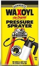 High Pressure Sprayer 1 Liter Underbody Sealing Kit Waxoyl Hammerite 6141711