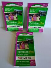 Fujifilm Premium Plus Photo Paper 44 Sheets 4x6 High Glossy Sheet Color Pictures
