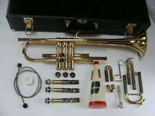 Quality BESSON STUDENT TRUMPET🎺 Refurbished 302137 with Hard Case EXTRAS!