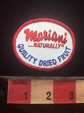 Vtg MARIANI Naturally Quality Dried Fruit Company Patch - Vacaville CA 76YD