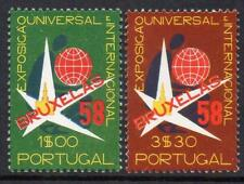 PORTUGAL MNH 1958 SG1148-49  World Exhibition in Brussels