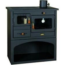 Cooking Wood Burning Stove Oven Cast Iron Top MultiFuel Cooker Prity 1p34 10kw.