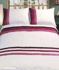 Polycotton Striped Bedding Sheets