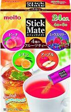Meito Stick mate fruit assort 24sticks From Japan
