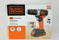 BLACK+DECKER 20-Volt MAX Lithium Cordless Drill, BCD702C1