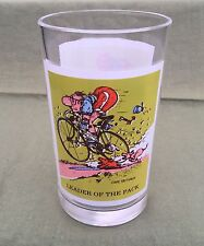 VINTAGE 1979 PEPSI LEADER OF THE PACK GLASS CYCLING EXC 1979