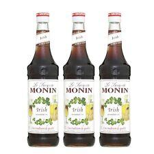 Monin Sirup Irish, 0,7L, 3er Pack