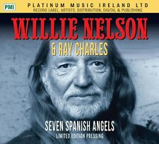 Willie Nelson & Ray Charles - Seven Spanish Angels - CD Single