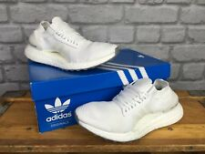 ADIDAS LADIES UK 4 ULTRA BOOST X PRIMEKNIT WHITE CRYSTAL WHITE TRAINERS RRP £150