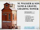 MODEL POWER HO SAND & GRAVEL GRADING TOWER BUILDING KIT