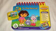 My First LeapPad Fun LeapFrog Dora The Explorer  Game Cartridge & Book
