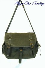 Ahmik Casual Canvas Cross Body Shoulder Messenger Bag B3059 Green