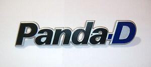 FIAT PANDA D/ SCRITTA POSTERIORE/ REAR NAMEPLATE BADGE