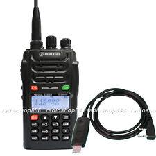 WOUXUN KG-UVD1P Dual Band DTMF VHF UHF Radio USB Prog.