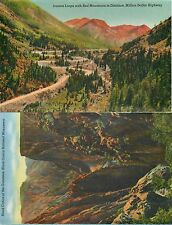 USA COLOR. two-sided printing NO postcard Million dollar Highway N°3 (S-L XX282)