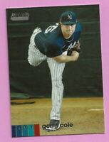 2020 Topps Stadium Club Gerrit Cole #247 New York Yankees