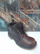 Dr. Martens 8A23  MENS Lace Up Ankle Brown Leather Boots UK5/USM6/USL7