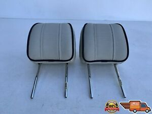 2010-2012 LAND RANGE ROVER HSE L322 REAR SEAT LEFT & RIGHT HEADREST OEM 10-12