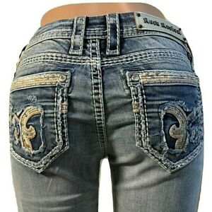 Rock Revival 36X33 FITS SZ 38X33 Nancy Easy Straight Jeans