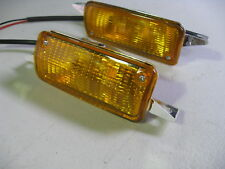 FORD ESCORT MK2, PAIR OF NEW FRONT INDICATORS,NON ORIGINAL,MEXICO,RS,HARRIER
