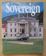 JAGUAR SOVEREIGN orig 1994 International Magazine Brochure - Edition 12